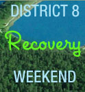 Recovery Weekend Graphic